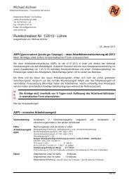 1 L - ASPI - neue Arbeitslosenversicherung ab 1 1 2013 - aichner.biz