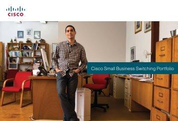 Small Business Switch Portfolio Feature Comparison