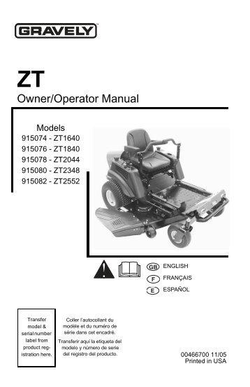 manual ariens lawn mower