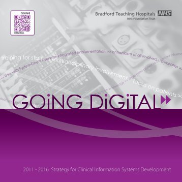 2011 - 2016 Strategy for Clinical Information Systems Development ...