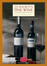 Fine Wine Favourites - The Wine Society