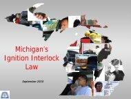 Michigan's Ignition Interlock Law - Michigan Coalition to Reduce ...