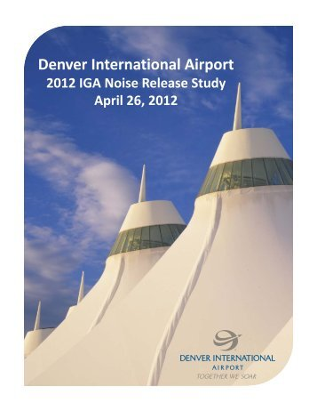 Denver International Airport - DIA Business Center Home Page ...