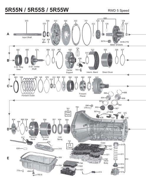 5r55w diagram wiring diagram