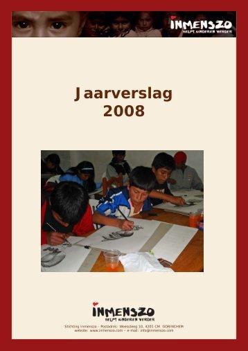Jaarverslag 2008.p65 - Inmenszo