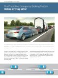 Predictive Emergency Braking System - Bosch Automotive Technology - Page 2