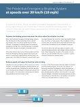 Predictive Emergency Braking System - Bosch Automotive Technology - Page 3
