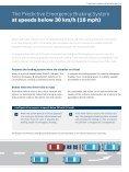 Predictive Emergency Braking System - Bosch Automotive Technology - Page 5