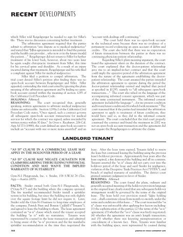 Landlords' rights and obligations