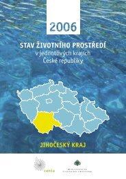 Jihočeský kraj (PDF, 696 kB) - CENIA, česká informační agentura ...