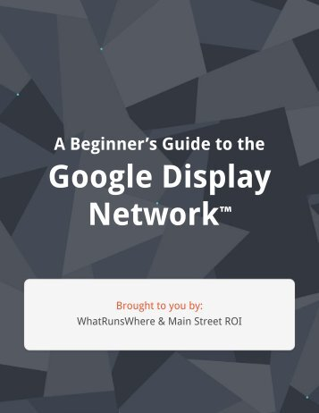 Guide-To-Google-Display-Network