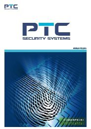 WERSJA POLSKA WERSJA POLSKA - PTC Security Systems