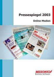 Online-Medien - Mesonic