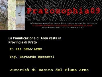 PAI Arno - Provincia di Prato