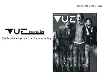 The fashion magazine from Berliner Verlag - Publicitas