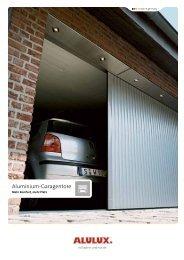 Aluminium-Garagentore - Alulux
