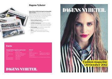 Fashion magazine 20 October 2012 - Publicitas
