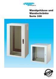 Wandgehäuse und Wandschränke Serie 330 - cam