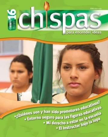 Revista: Chispas No.16 - conafe.edu.mx