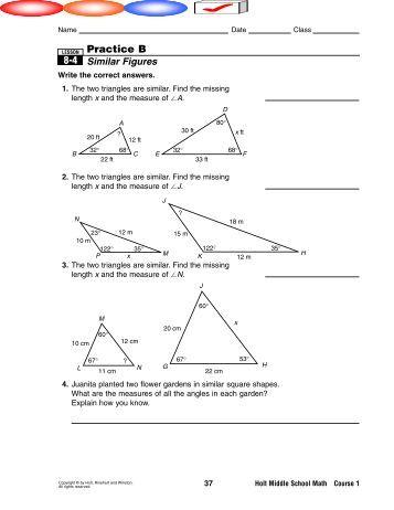 Worksheet Similar Polygons Worksheet similar polygons worksheets pdf worksheet 6 2 objectives identify figures solve