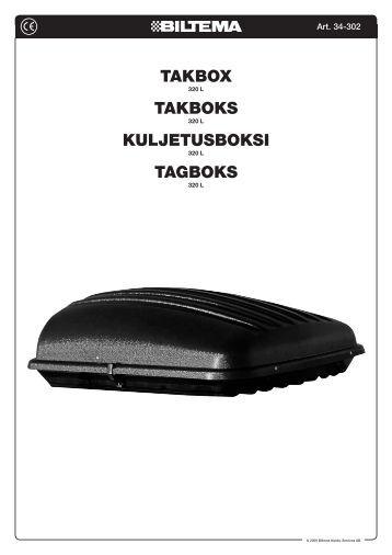 takbox biltema