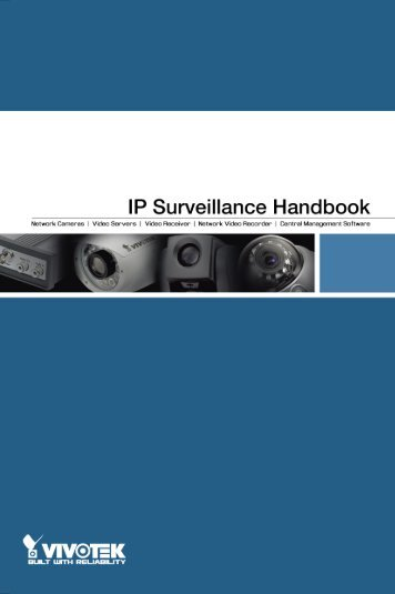 Vivotek IP Handbook - CCTV Cameras