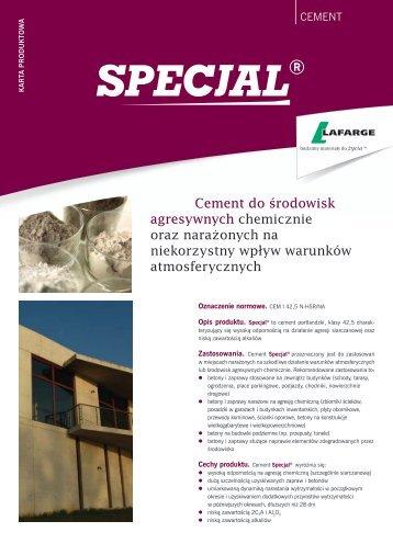 Cement Specjal - Lafarge