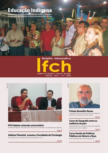 IFCH - Informativo - Universidade Federal do Pará