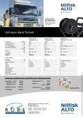 Broschüre mit technischen Daten und Vergleichstabelle. - Robe ... - Seite 4