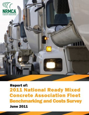 2011 Fleet Survey Final Report Aug 11 _2 - National Ready Mixed ...