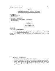 Change 1, April 11, 2002 7-1 1Municipal code reference ... - MTAS