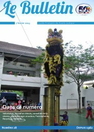 Bulletin du 7/02/13 - Lycée Français Kuala Lumpur
