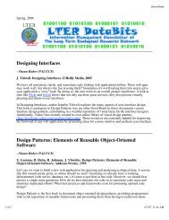 Designing Interfaces Design Patterns: Elements of Reusable Object ...