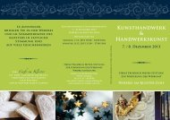 Kunsthandwerk & Handwerkskunst - Heinz Friedrich Meyer-Stiftung ...
