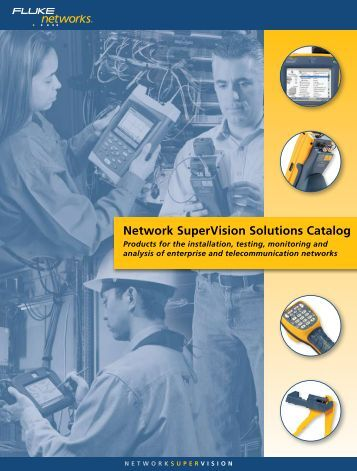 Network SuperVision Solutions Catalog
