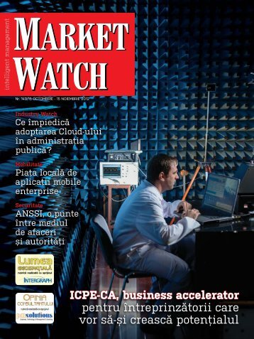 Octombrie - Noiembrie 2012 [Nr. 149] - Market Watch