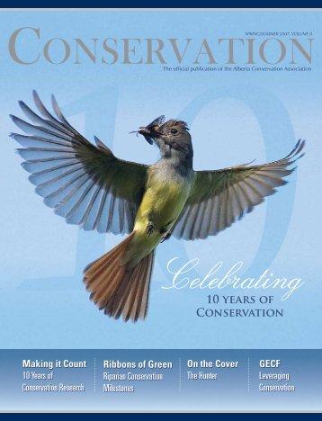 Spring/Summer 2007 - Alberta Conservation Association