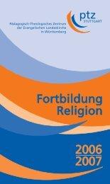 STUTTGART Pädagogisch-Theologisches Zentrum  der - PTZ