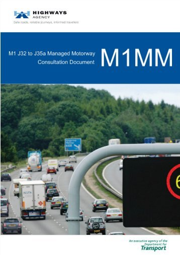 M1 J32 to J35a Managed Motorway Consultation Document - assets ...
