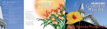 GARDEN HOPE - The Children's Home