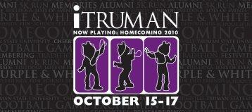 Homecoming registration form - Alumni - Truman State University