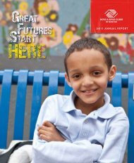 2011 ANNUAL REPORT - Boys and Girls Club of Boston