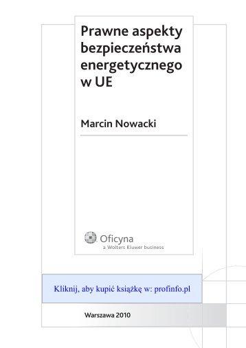 Prawne aspekty bezpieczeństwa energetycznego w UE Marcin ...