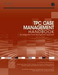 TPC Case Management Handbook: An Integrated Case ...