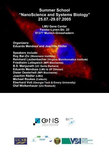 Flyer [PDF] - the Munich Systems Biology Forum
