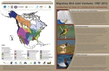 Migratory Bird Joint Ventures: 1987-2012 - Pacific Coast Joint Venture