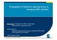 Propagation of airborne spacing errors in merging ... - ATM Seminar