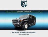 ARMORED HUMMER H2 - Alpine Armoring Inc.