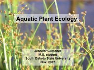 Aquatic Plant Ecology