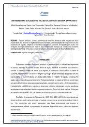 LINHAGENS FINAIS DE ALGODÃO NO VALE DO ... - Fundação Bahia